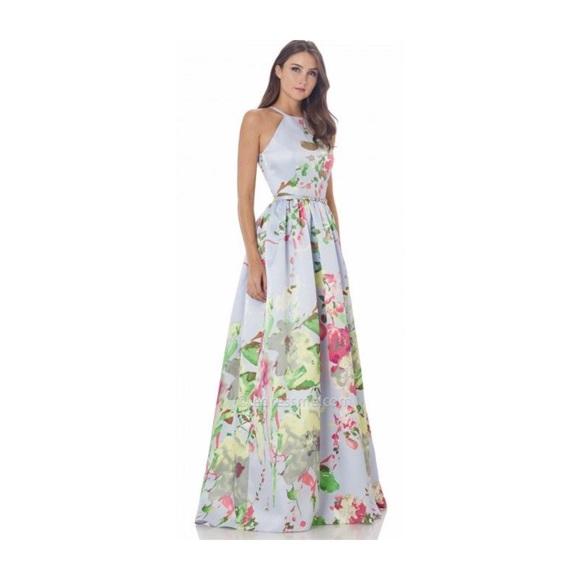 3319853468ac Carmen Marc Valvo Dresses & Skirts - Carmen Marco Valvo Infusion Mikado  Ballgown